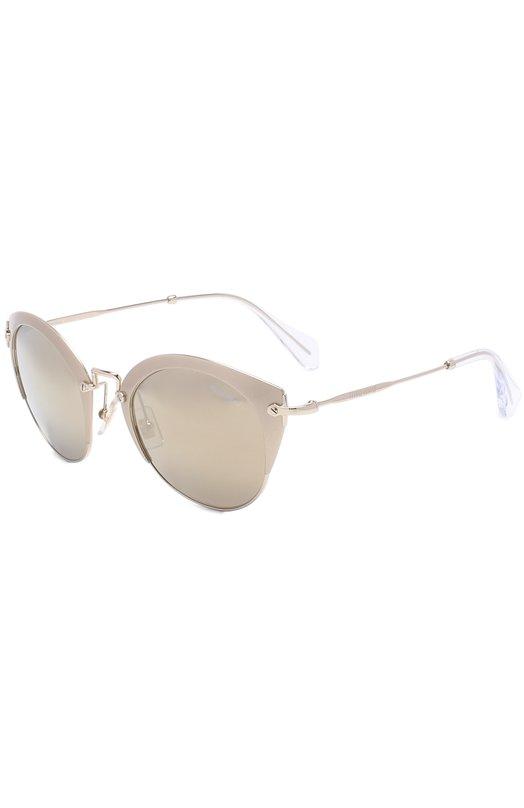 Купить Солнцезащитные очки Miu Miu, 53RS-VAF1C0, Италия, Серый