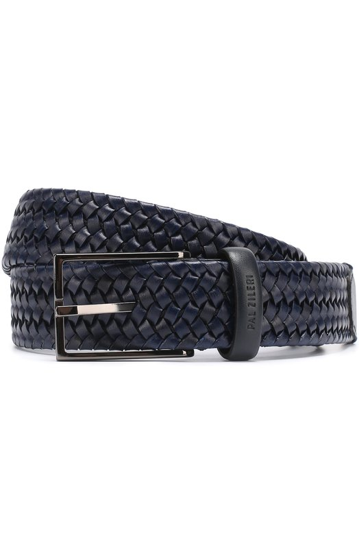 Плетеный кожаный ремень с металлической пряжкой Pal Zileri 94633/300/Y512