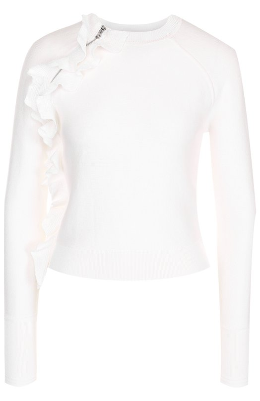 Укороченный пуловер с оборками 3.1 Phillip Lim S171-7879S0R