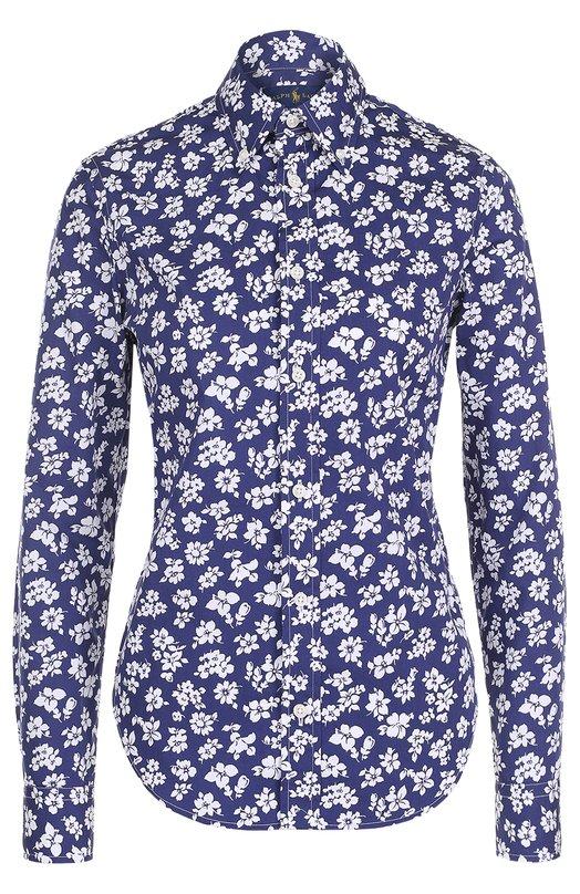 Блуза свободного кроя с цветочным принтом Polo Ralph Lauren V33/XZ91N/XY91N