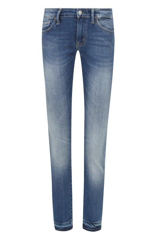 Укороченные джинсы-скинни с потертостями Denim&Supply by Ralph Lauren 288503062/014