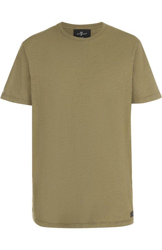 Хлопковая футболка с круглым вырезом 7 For All Mankind S5M2510SG