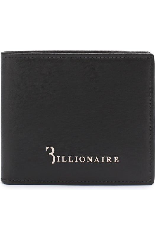 Кожаное портмоне с отделениями для кредитных карт Billionaire I17A MVG_0031 BLE005N