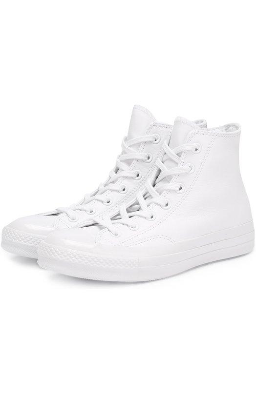 Высокие кожаные кеды All Star Converse 155453