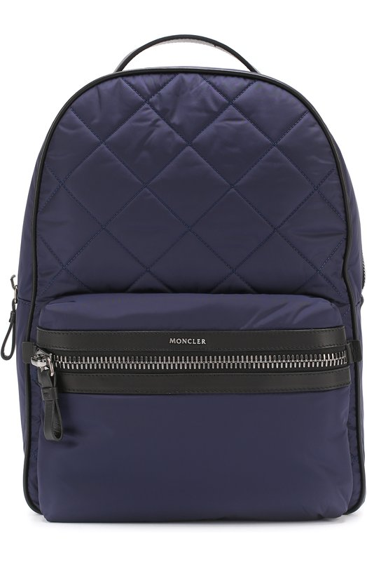 Текстильный рюкзак с отделкой из натуральной кожи Moncler C1-09A-00612-00-54164