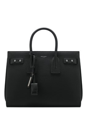 Сумка Sac de Jour Souple small Saint Laurent черная | Фото №1