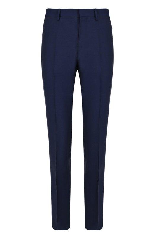 Купить Шерстяные брюки прямого кроя Stella McCartney, 459586/SI003, Румыния, Темно-синий, Шерсть: 84%; Мохер: 16%; Подкладка-вискоза: 100%;