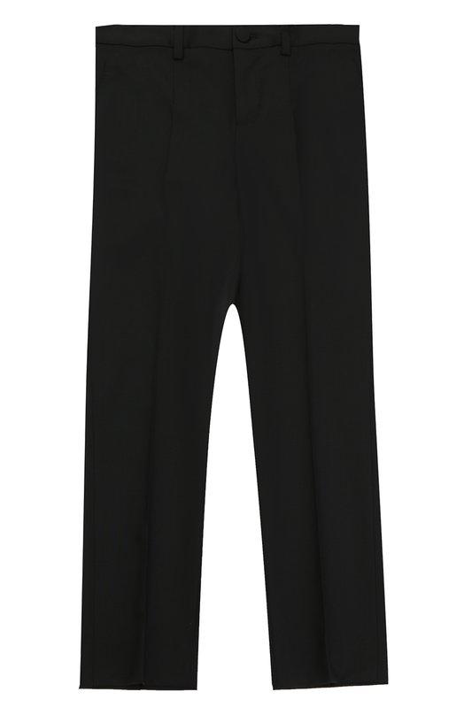 Шерстяные брюки прямого кроя Dolce & Gabbana 0131/L42P06/FUBBG/8-12
