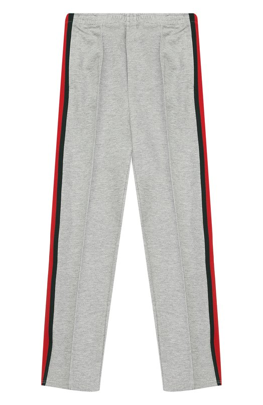 Спортивные брюки с контрастными лампасами Gucci 455142/X5H94