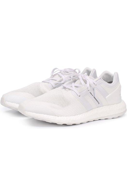 Текстильные кроссовки на шнуровке Y-3 BY8955