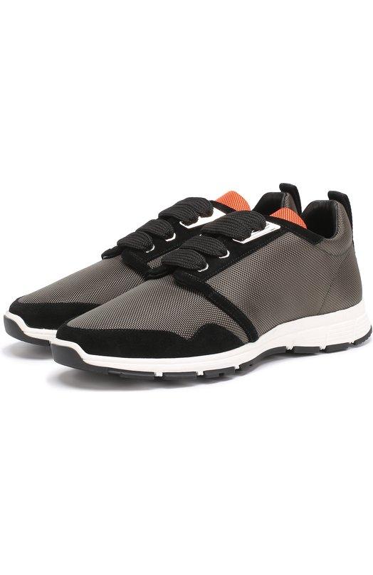 Комбинированные кроссовки на шнуровке Dsquared2 S17K208/081