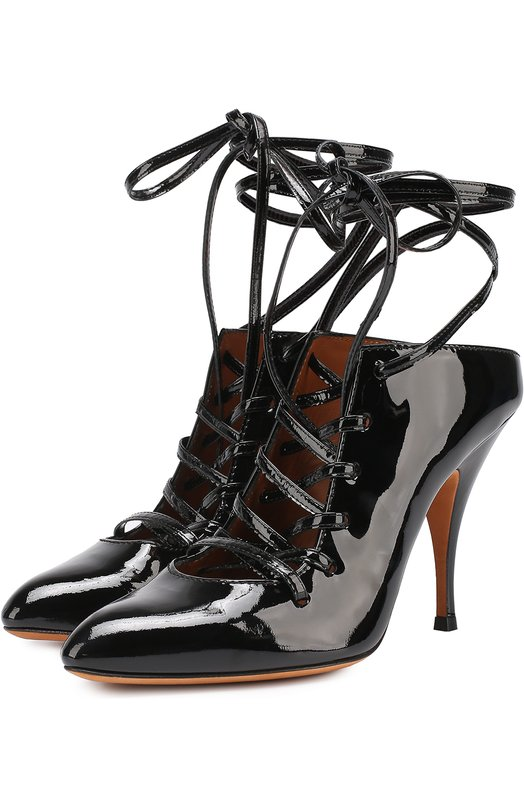 Лаковые туфли на шнуровке Givenchy