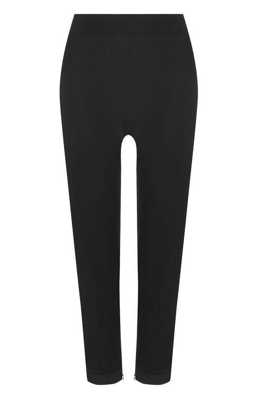 Купить Укороченные кашемировые брюки-скинни Tom Ford, PAK024/YAX094, Италия, Черный, Кашемир: 70%; Шелк: 30%; Отделка-ацетат: 100%;