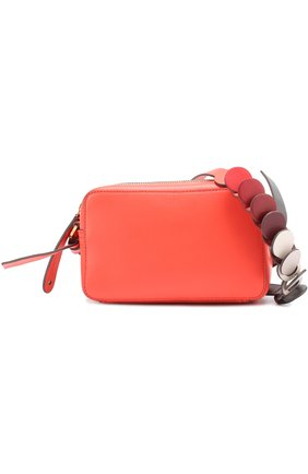 Сумка Circle Mini Cross-Body Anya Hindmarch красная | Фото №1