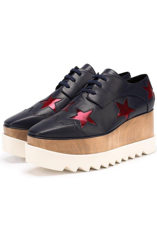 Ботинки из эко-кожи на платформе Stella McCartney 363998/W0YGP