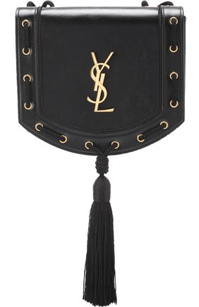 Сумка Monogram Fetish Saint Laurent черная | Фото №1