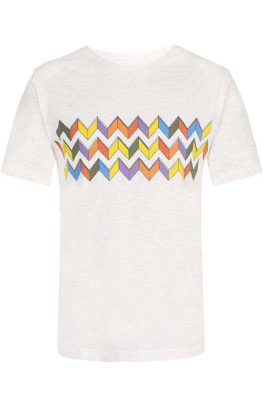 Хлопковая футболка с принтом Missoni E17/MU/534090