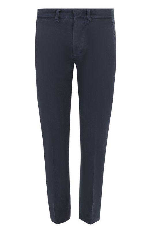 Хлопковые брюки прямого кроя Tom Ford BM100TFP201
