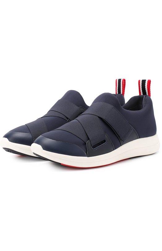 Текстильные кроссовки с ремешками Tory Burch 32802