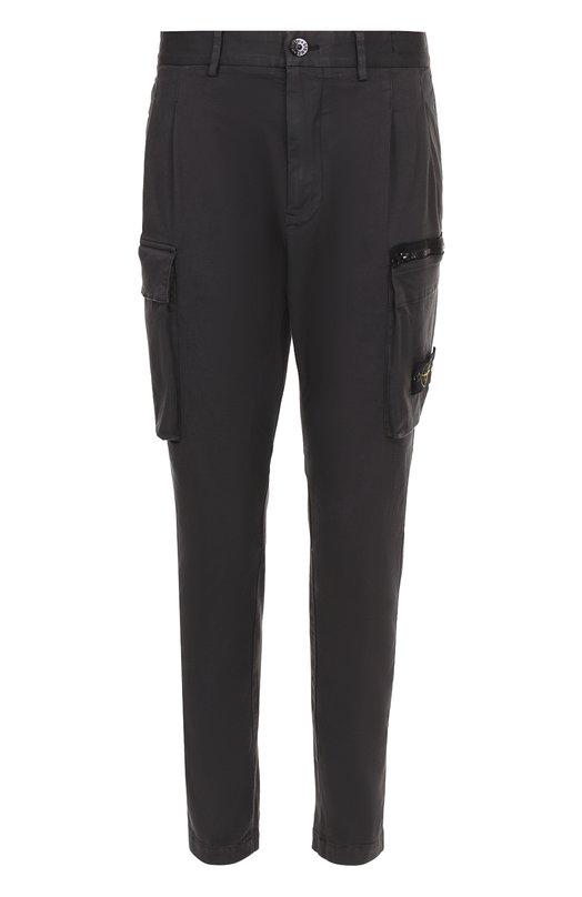 Хлопковые брюки карго Stone Island 661530402