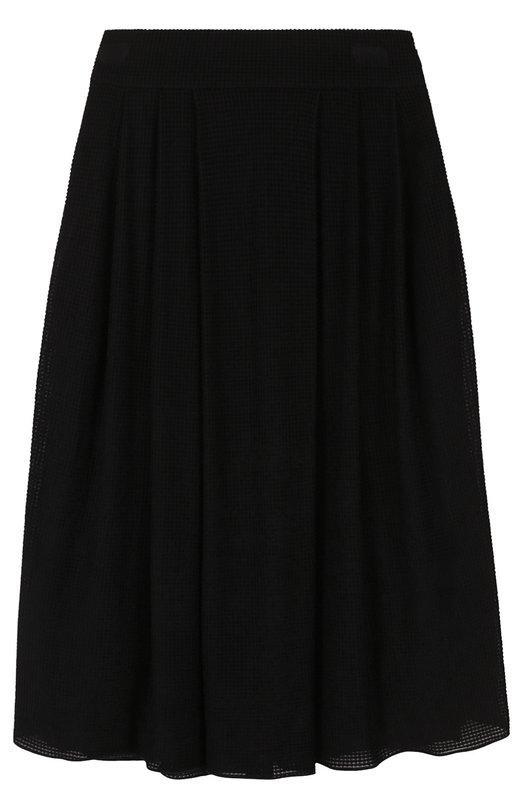 Вязаная юбка-миди с широким поясом Giorgio Armani 3YAN70/AJDNZ