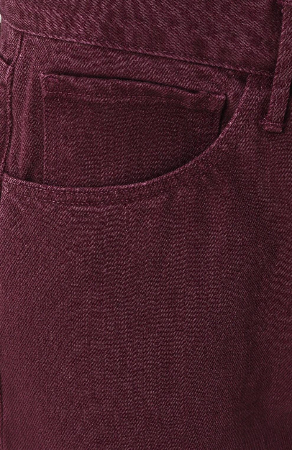 Бордовые джинсы с доставкой