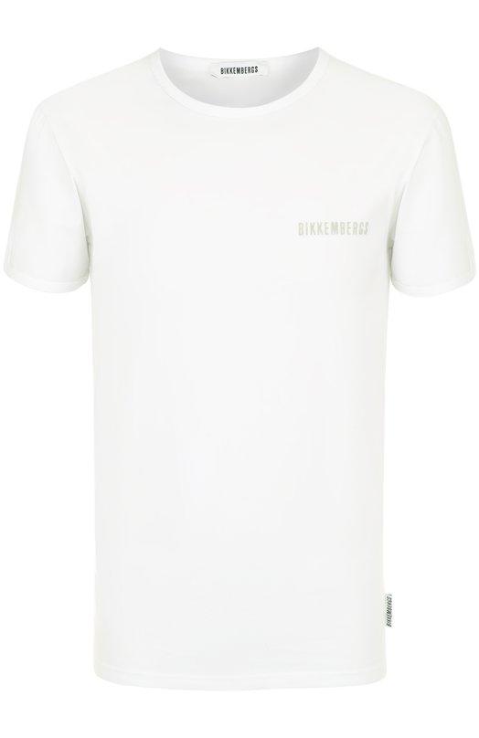 Купить Комплект из двух хлопковых футболок с круглым вырезом Dirk Bikkembergs, B41308T48, Тунис, Белый, Хлопок: 94%; Эластан: 6%;