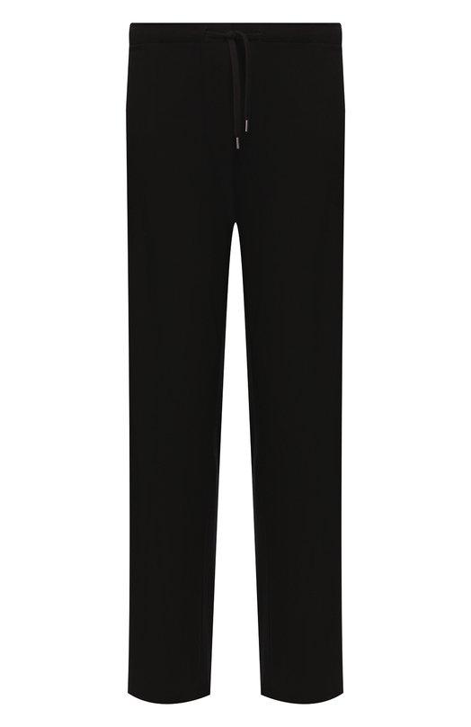 Домашние брюки из вискозы свободного кроя Derek Rose 3558-BASE001
