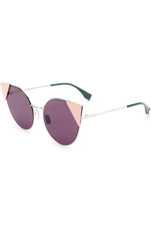 Купить Солнцезащитные очки Fendi, 0190 010, Италия, Фиолетовый