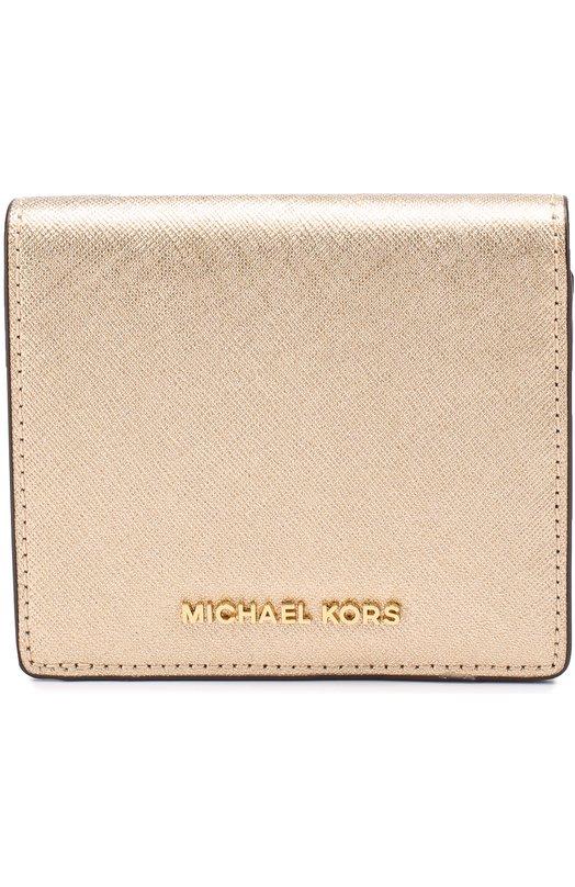 Кошелек из металлизированной кожи MICHAEL Michael Kors 32T6MTVD1M