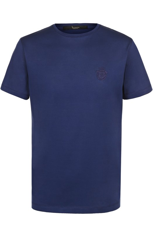 Хлопковая футболка с круглым вырезом Billionaire I17C MTK_0639 BTE014N