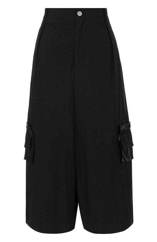 Удлиненные хлопковые шорты свободного кроя Damir Doma BS1M0044/F1502