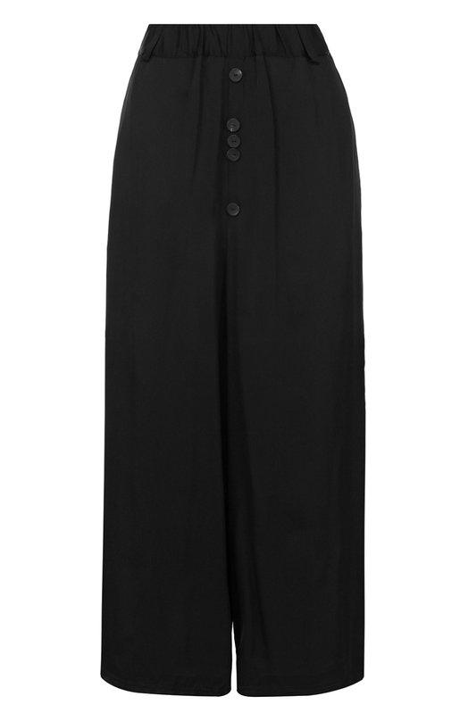 Укороченные брюки из вискозы свободного кроя Damir Doma BS1M0071/F1701