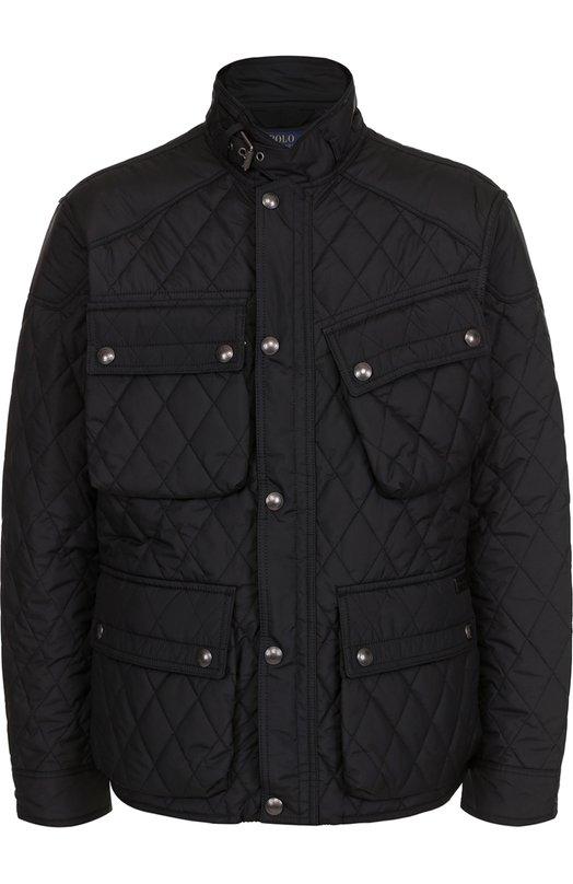 Стеганая куртка на молнии с воротником-стойкой Polo Ralph Lauren A30/XZ7KX/XY7KX
