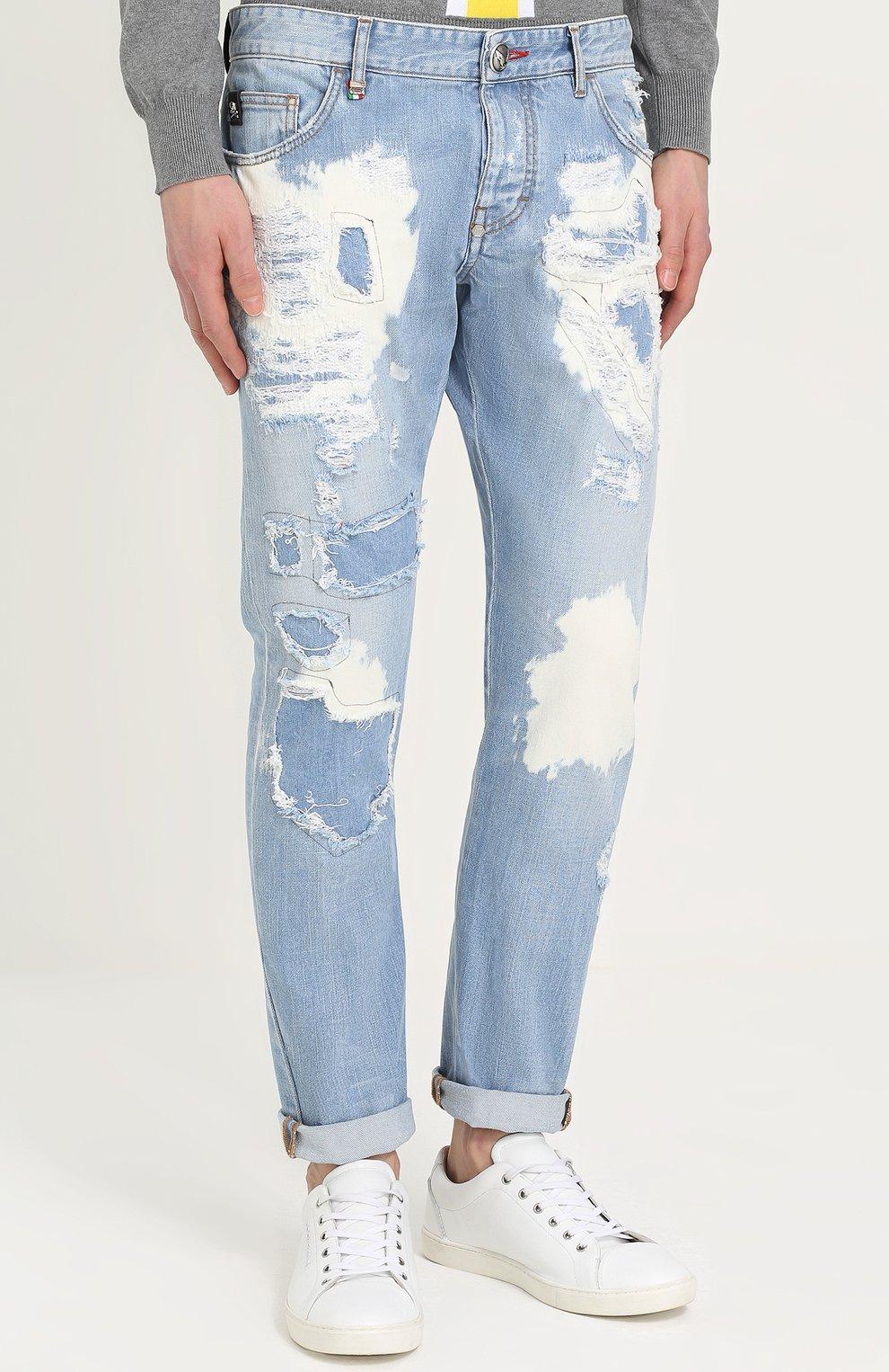 Голубые джинсы купить с доставкой