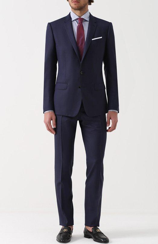 Шерстяной костюм с пиджаком на двух пуговицах Dolce & Gabbana 0101/G16ZMT/FM2EQ