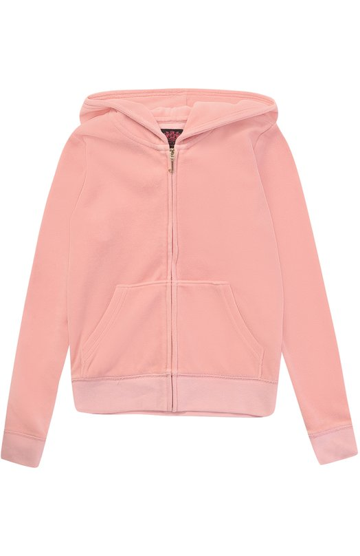 Спортивный кардиган с принтом и стразами Juicy Couture GTKJ62229