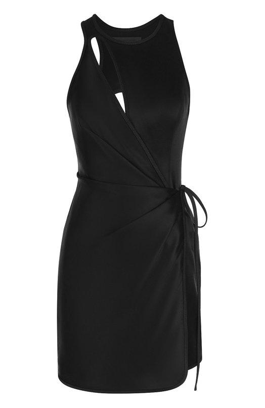 Мини-платье с запахом и открытой спиной Alexander Wang 106003S17