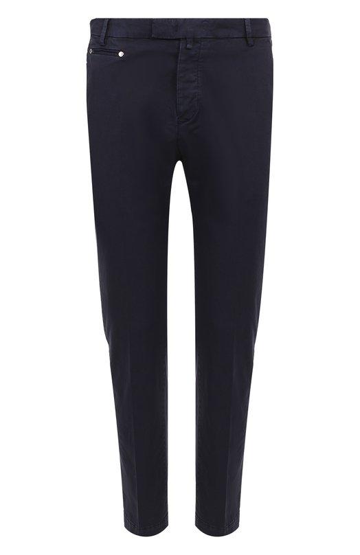 Хлопковые брюки прямого кроя Frankie Morello FMCP7053PA