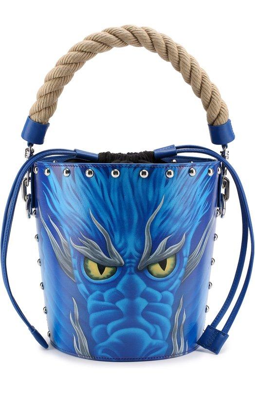 Сумка Studded Dragon Bucket J.W. Anderson HB14WS17 404/833