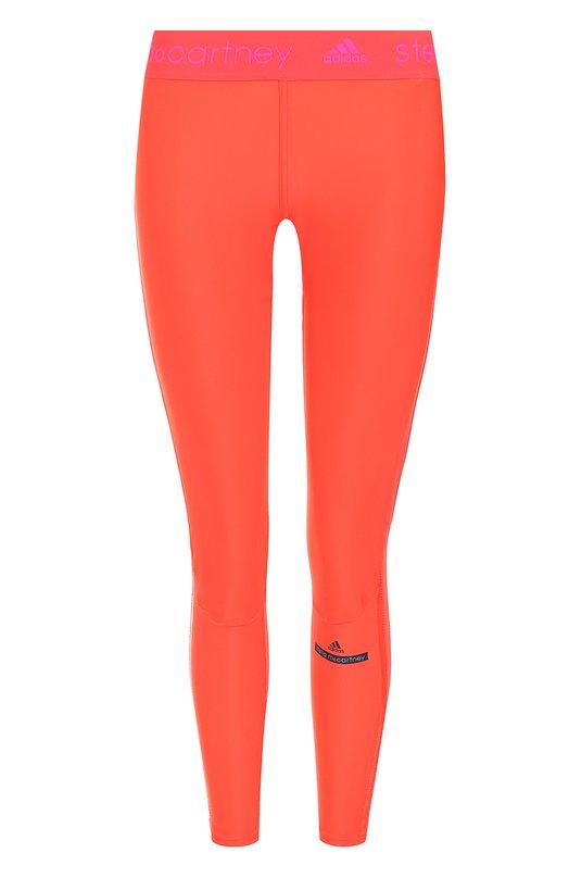 Спортивные леггинсы с логотипом бренда Adidas by Stella McCartney BR6639