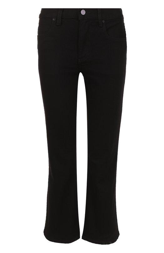 Укороченные расклешенные джинсы T by Alexander Wang 413752