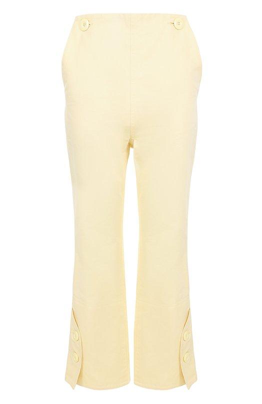 Укороченные расклешенные брюки с завышенной талией Marni PAMAV32A00TCR23