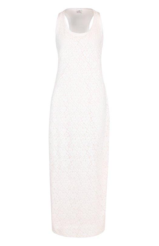Кружевное платье-макси без рукавов Deha D53070
