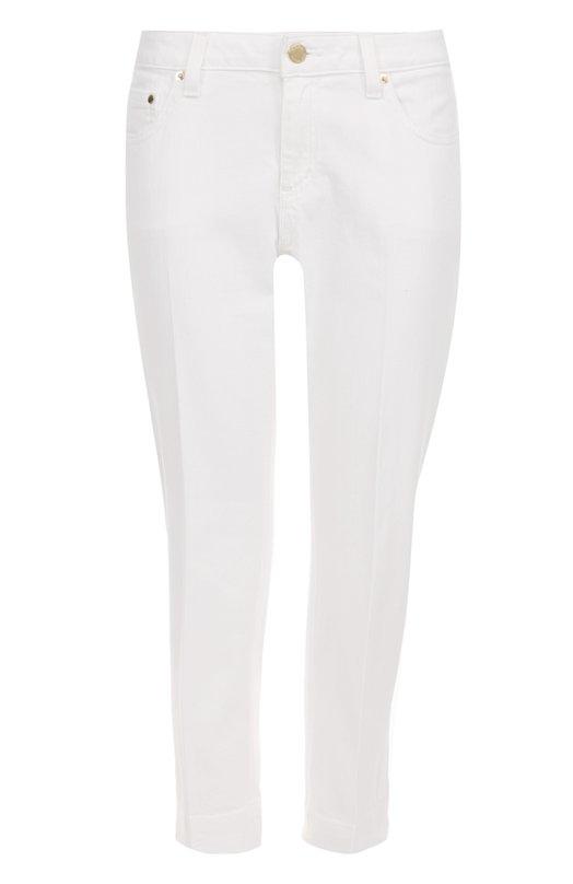 Укороченные джинсы со стрелками и отворотами MICHAEL Michael Kors MS79CLETK6