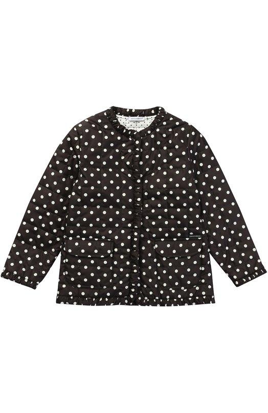 Куртка в горох с накладными карманами Dolce & Gabbana 0131/L5JB99/G7KBJ/2-6