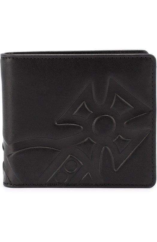 Кожаное портмоне с декоративной отделкой Vivienne Westwood 3886V/MG