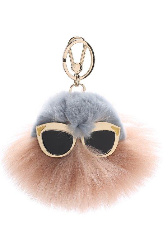 Брелок Bubble с мехом и декором Furla RL87