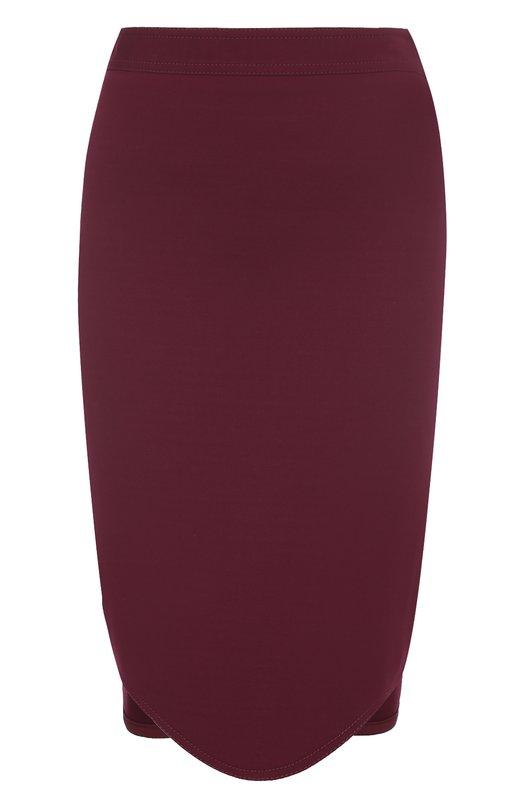 Юбка-карандаш с волнистым подолом Givenchy 17U4704431