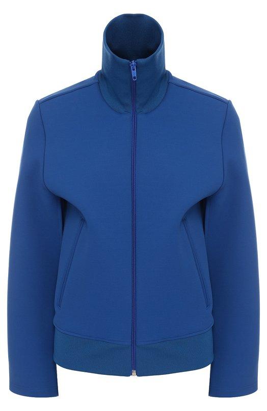Куртка с воротником-стойкой и разрезами на рукавах Balenciaga 457949/TTK23